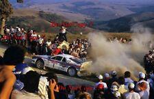 Henri Toivonen Martini Lancia 037 San Remo Rally 1985 Photograph 3