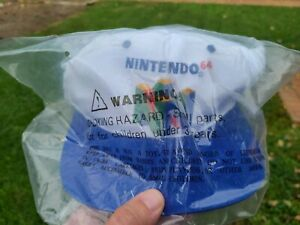 Brand New! Vintage 90s Nintendo 64 Super Mario 64 Game Snapback Hat by Kelloggs!