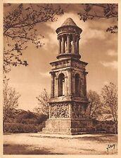 Br45014 Saint Remy de provence le mausolee Publicite Salsanos Sel effervescent
