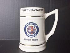 1984 World Series Detroit Tigers San Diego Padres Collectors Beer Stein Mug