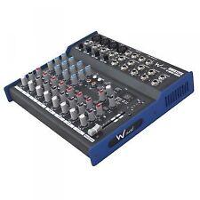 W-Audio Dmix12fx 12-input Audio Mixer DJ Band Studio Karaoke Mixing Desk