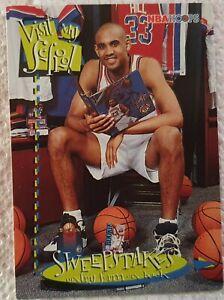 Carte Basketball NBA Hoops 1996-97 Grant Hill Detroit Pistons Visit My School