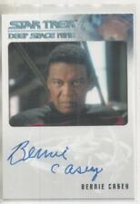 "Star Trek DS9 Heroes/Villains Auto Trading Card Bernie Casey ""Calvin Hudson"""