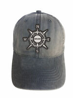 Compass Explore Adjustable Curved Bill Strap Back Dad Hat Baseball Cap