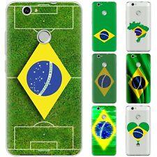 Dessana Brasil TPU Funda Protectora Silicona Carcasa para Móvil Huawei