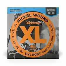 Set di corde per chitarra elettrica D'addario XL Nickel Wound, 10-46, EXL110BT