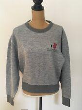 Rag & Bone I Love Daytona Sweater Sweatshirt Gray, Size Medium, NWT retail 225!