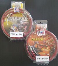 Galfer Front Brake Lines & Rear Line Kit-Red-2008-2009 HONDA CBR1000RR NON ABS