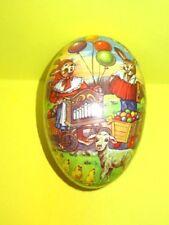 """Vintage German Democratic Republic Papier Mache Easter Egg 5.5"""" long"""