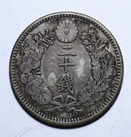 1897 Japan Twenty 20 Sen - Meiji 30 - Lot 606
