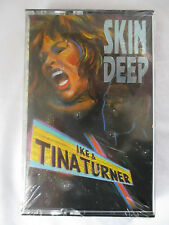 "IKE AND TINA TURNER ""SKIN DEEP"" CASSETTE TAPE - BRAND NEW - CRACK ON CASE"