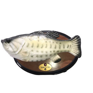 Gemmy Big Mouth Billy Bass Singing Fish Working Small Version