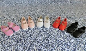 """Doll Shoes 14"""" Betsy McCall Red White Black Pink Lavender 2 1/8"""" You Choose 1 pr"""