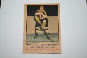 Bill Quackenbush - 1951-92 Parkhurst Rookie Card  - NM to NM-MT? condition