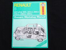 RENAULT 5 1972 ~ 1985 INC TURBO PETROL HAYNES SERVICE WORKSHOP REPAIR MANUAL 141