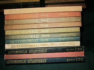 Automobile Quarterly Books~1962-1971~Volumes 4 to 9~VG~7 Books Available