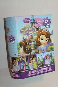 Disney Sofia the First Storybook Jigsaw Puzzle for Kids 96 Pieces NEW