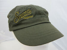 Sauza Tequila baseball cap hat adjustable v green