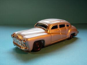 Tippco 1:35 HUDSON HORNET Tin Toy Model Car Friction Germany BLACK WHEELS RARE !