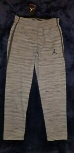 Nike Men's Jodan North Carolina Tar Heels Elite Pants heather grey Size L