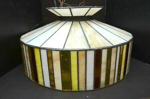 Tiffany Style Ceiling pendant Light chandelier Arts & Crafts Mission hanging