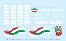 Gios Bicycle Decals-Transfers-Stickers #3