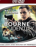 The Bourne Identity (HD-DVD, 2007) BRAND NEW FACTORY SEALED