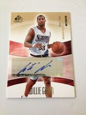 2003-04 SP Game Used SigNificance Gold Willie Greene Auto #SIG-WG #/10 Clippers