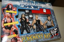 WWE/WWF JAKKS WRESTLEMANIA XV JUDGEMENT DAY BOX SET AUSTIN, UNDERTAKER, VINCE
