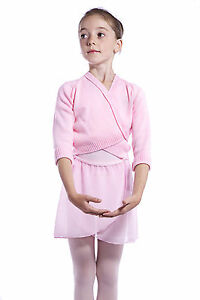 Roch Valley PINK Knitted/ Acrylic Ballet Cardigan. Ages 2, 3,4,5,6,7,8,9 years