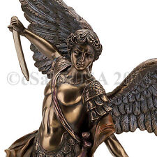 Archangel Michael Lucifer Statue Saint Figure Satan Army of God Tobit Revelation