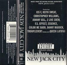 New Jack City [PA]  (Cassette, Sountrack)