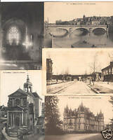 SARTHE (Dep.72) 900 Vintage Postcards pre-1940