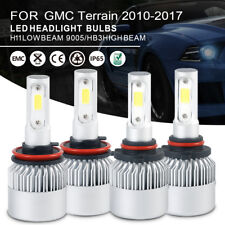 Car LED Headlight Bulbs Kit 9005 H11 High Low Beam For GMC Terrain 2010-2017