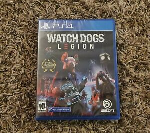 Watch Dogs Watchdogs Legion PlayStation 4 PS4 Brand New Sealed Free Shipping