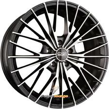 4 Cerchi in lega OZ Ego Matt Black Diamond Cut 7,5x17 et40 5x105 56,6 NUOVO