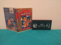 The spirit of mickey / Meilleurs moments mickey  VHS tape & clamshell  FRENCH