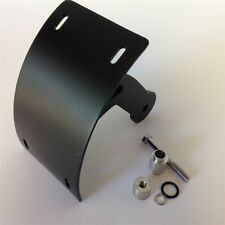 Side Curve Mount License Plate Bracket Tag Holder For Suzuki Boulevard M109R Bla