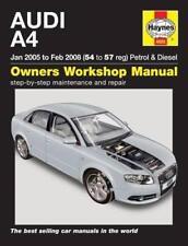 Haynes AUDI A4 B7 (01-04) SALOON AVANT SE Owners Service Repair Manual Handbook