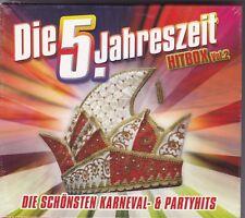 DIE 5. JAHRESZEIT HITBOX VOL.2 - DIE SCHÖNSTEN KARNEVAL & PARTYHITS 2 CD'S NEU!
