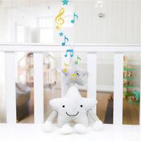 Newborn Baby Rattles Plush Star Stroller Pram Bed Music Hanging Bell Toy Dolls