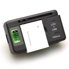 Universal Battery Charger LCD Indicator Screen for Cell Phones Mobile & USB Port