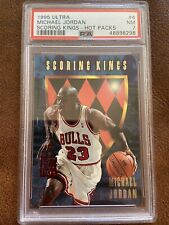 1995 Ultra Michael Jordan Scoring Kings #4 PSA 7 NM