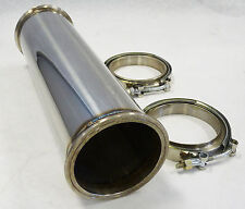 "OBX Stainless Universal Modular Straight Pipe Exhaust 12"" Long 3"" 3.0"" Diameter"