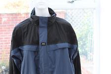 Mens XXXL HH Helly Hansen School coat Black Jacket 3XL wind breaker bomber