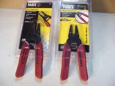 Klein Wire Stripper / Cutter  11049  8-16 awg / 11046  16-26 awg  NEW  Unopened