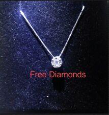 6c2c6144ea89 Collares y colgantes de joyería con diamantes colgante en oro blanco ...