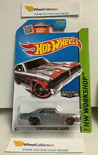 '74 Brazilian Dodge Charger #206 * ZAMAC Walmart  Hot Wheels 2015 USA Card * C27