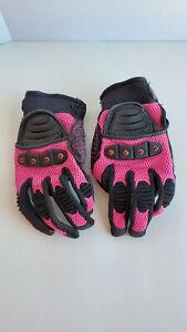 Womens Small Pink Icon Tarmac V2.0 Riding Gloves NWOT