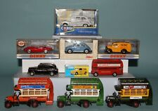 Lot - 10 Die-Cast CORGI+DINKY+BUDGIE+SCHUCO - 5 in Orig Box Various Scales